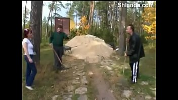 Young skinny 18yo russian schoolgirl and mature old daddies gangbang outdoor thumbnail