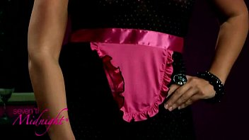 Seven Til Midnight 9375X Spicy Plus Size Open Back Chemise and Thong(iphone)