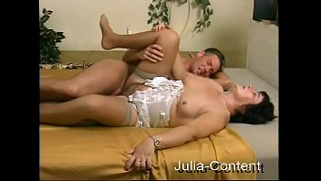 Housewife Gerda fucked by a Model