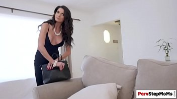 Horny stepson screwed her stepmoms pussy