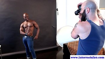 Gay interacial picture gallery Muscled black dudes posing for pictures