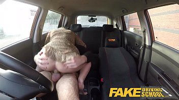 Slut Student Has Sex In The Car With Her Brother