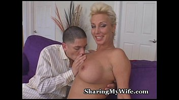 Mature Spouse Invites Young Stud To Fuck
