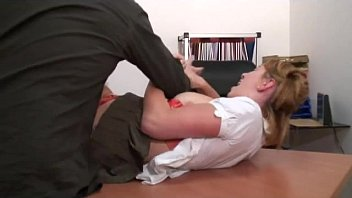 Naughty slut gets punished with anal
