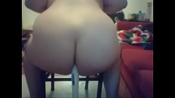 Stuffing a Hitachi Up My Whore Ass - Rainbow Booty