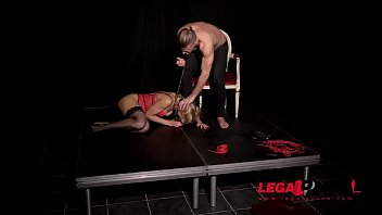 Extreme submission makes gagged Cherry Kiss cum during XXX anal penetration GP571