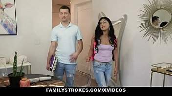Family Strokes - Hot Body Stepsister Lets Me Fuck Her While Mom's Home