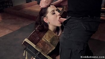 Slave trainee fuck in various positions