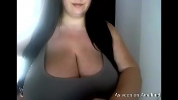 Huge Tits On Display In Front Of The Webcam