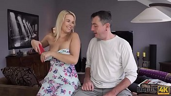 DADDY4K. Dad wants to fuck angel while her boyfriend is s. 10 min