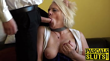 Granny domination Blonde gilf carol throated before anal domination and facial