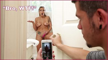 BANGBROS - Teen Step Sister Layla London Filmed Masturbation In Shower, Has Sex To Delete Footage Thumb