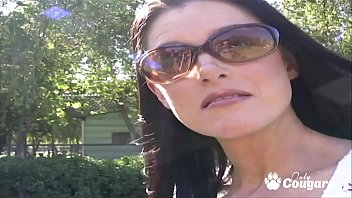 MILF India Summer Talked Into Fucking A Guy She Just Met