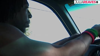 BBC shows the cute white hitchhiker his fuck skills