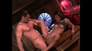 Sexy asian beauty Lucy Lee gets her tight pink pussy slammed with white schloeng