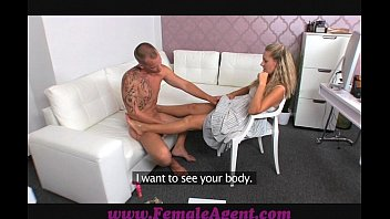 Zuzana escorts - Femaleagent stud dissapoints milf in casting