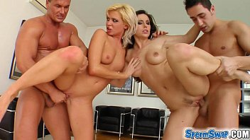 11 homologous chromosomes in sperm Sperm swap blonde and brunette have fun with two guys