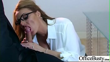 Sex In Office With Big Round Tits Girl (Stacey Saran) video-27 preview image