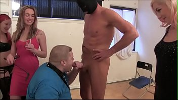 Male oral sex on small erections Fat boy forced to suck