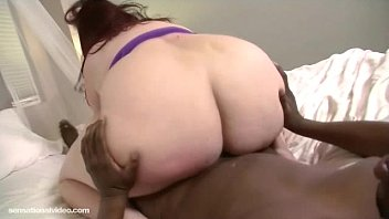 Black bbw fuck mpegs - Redhead bbw eliza allure fucks her first big black cock