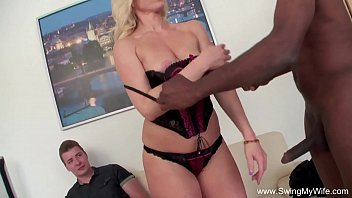 German Swinger Blonde BBC For Hubby 31 min