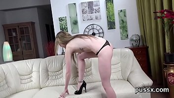 Fervid czech cuties spread their asses with ass plug and enormous dildos