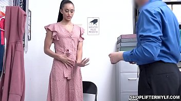 Gia Vendetti is a sexy Latina MILF shoplifter that loves getting fucked with the cop after being caught stealing.