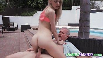 Step Dad Punishes Young His Daughter - FamilySpanks.com