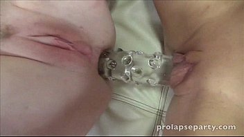 Chastity learns how to prolapse