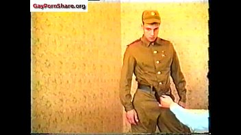 Xxx gay uniform cams Soviet army vintage gay video