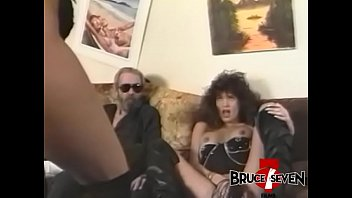 Busty dyke Nikki Wilde disciplined with whips and bondage