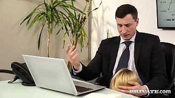 Young secretary forced to fuck Anny aurora gets used and abused by her boss