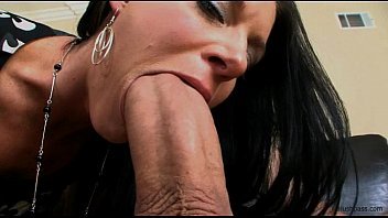 India Summer gets her milf muff split in two