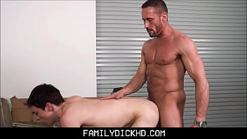 Coeur creve gay missouri Twink step son and his step dad fuck while fixing flat bike tire
