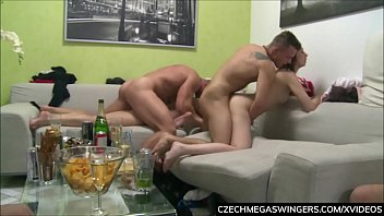 Cap d agde swinger Threesome fucking at private home party