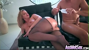 (Brooklyn Chase) Gorgeous Girl With Huge Ass Enjoy Deep Anal Bang clip-14