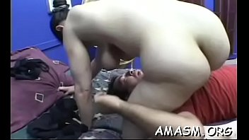 Home porn vidoes Makes mature astonishing facesitting porn scenes at home