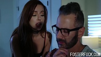Foster Father Caught Daughter Sneaking And Punished Her- Vanna Bardot