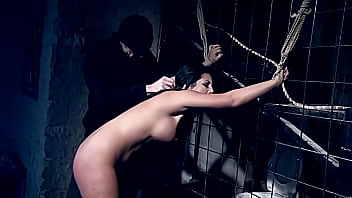 Hot slut Amanda Black, needs to learn submission. Part 2. Her gorgeous round ass whipped hard, then I fuck her roughly.
