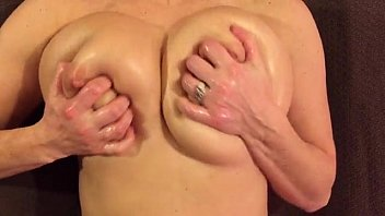 Curvy Wife Playing with Big Boobs Preview