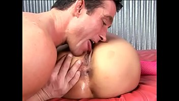 Stunning nympho Regan Reese with big melons and raven-black hair enjoys when her lover streches her wet twat with his big schloeng