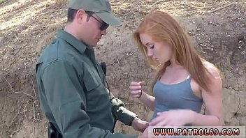 Police strapon and milf cop She unclothed down, showing off her puffy
