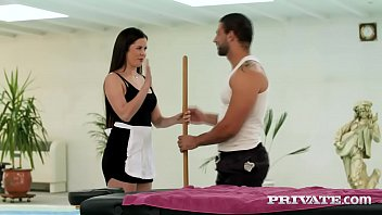 Private.com Hot Maid gets Dirty