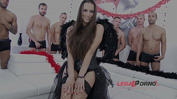 10 men anal gangbang for Mea Melone SZ988