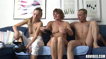 German lesbians gets fucked in threesome