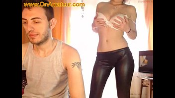 First time on webcam amateur couple from miami