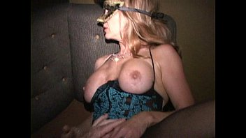 Hanau swinger club - Big clit milf in mask cums like crazy in trapeze swinger club orgy