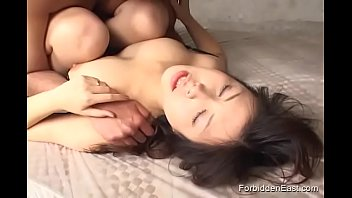 Hairy Asian Japanese Fucked Hard And Given Facial And Creampie