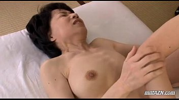 Mature slave wife - Mature woman with hairy pussy fingered and licked by young guy on the mattress