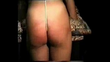 Whipping my stupid italian slave. Amateur home